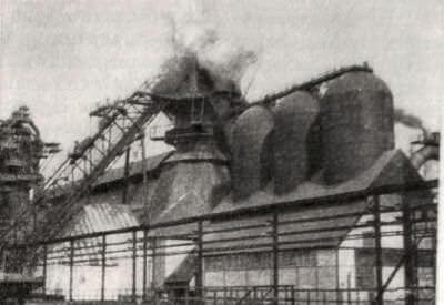 Металлургический завод в Новом Тагиле. Фотография. 1940 г.