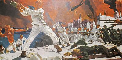 Оборона Севастополя. А.А. Дейнека. 1942 г.