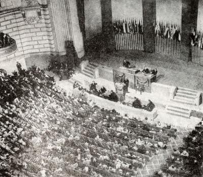Конференция Объединенных Наций в Сан-Франциско. Фотография. Апрель 1945 г.