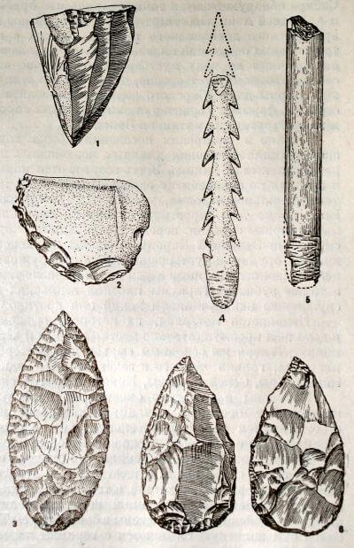 Верхнепалеолитические изделия из Сибири
