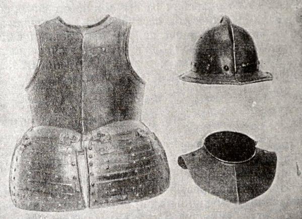Доспехи полков нового строя в XVII веке