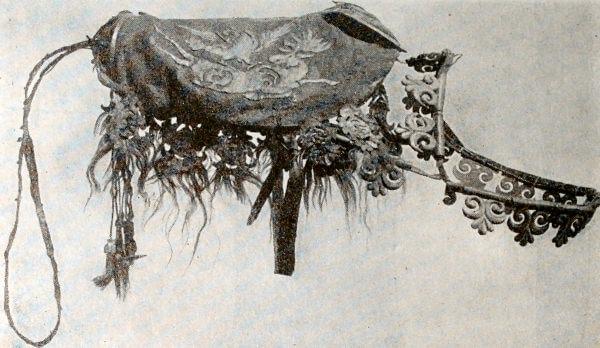 Седло из Пазырыкских курганов. IV-III вв. до н.э.