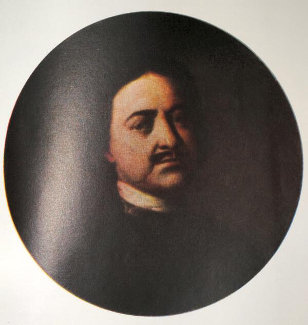 Петр I. Портрет работы И. Никитина. 1721 год.