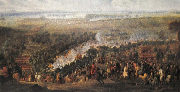 Сражение при деревне Лесной 28 сентября 1708 года. II. Дени Мартен Младший.