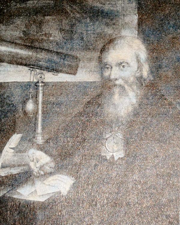 И. П. Кулибин. Портрет работы П. П. Веденецкого 1790 года.