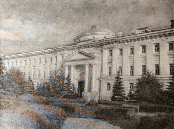 Здание Сената в Москве. Архитектор М. Ф. Казаков. 1776-1789 годы.