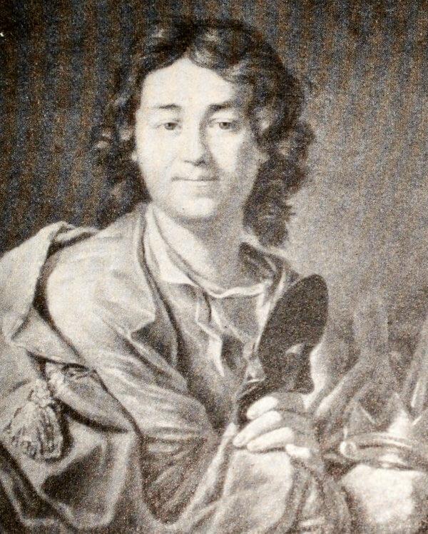 Ф. Г. Волков. Портрет работы А. П. Лосенко 1763 года.