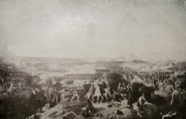 Бородинское сражение. П. Гесс.