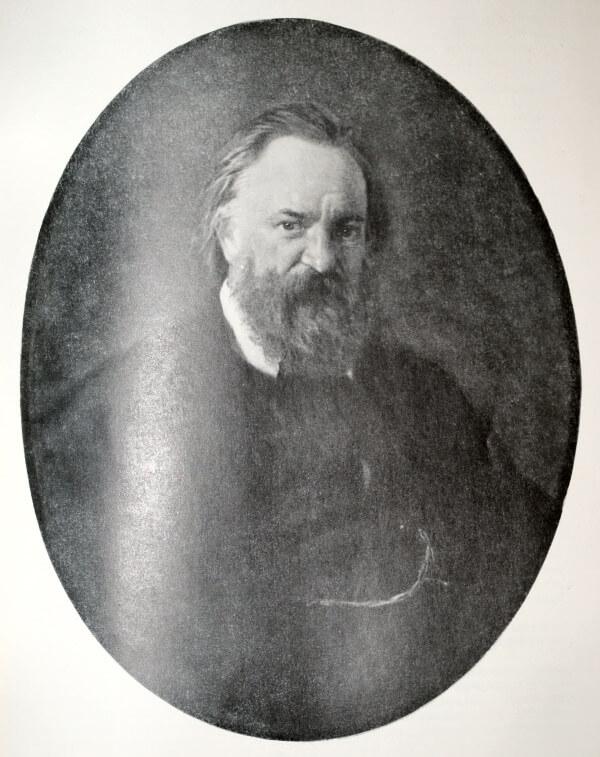 А. И. Герцен. Портрет работы Н. Н. Ге. 1867 год.