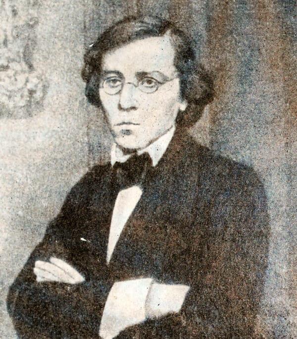 Н. Г. Чернышевский. Фотография 1859 года.
