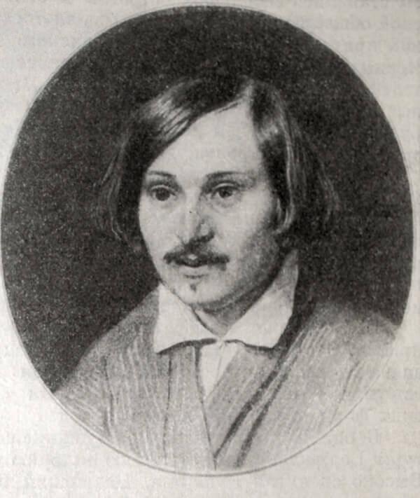 Н. В. гоголь. Портрет работы Александра Иванова. 1841 год.