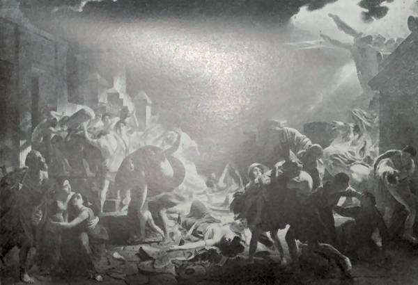 Последний день Помпеи. К. Брюллов. 1830-1831 годы.