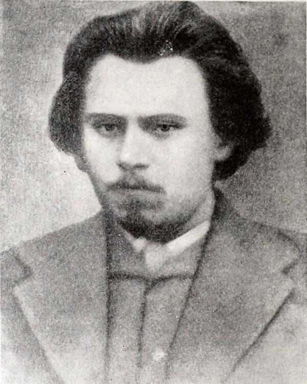 А. И. Желябов. Фотография. 70-е годы XIX века.