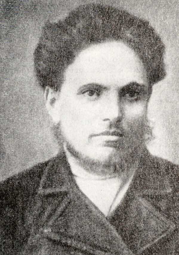 Петр Моисеенко. Фотография. 70-е годы XIX века.