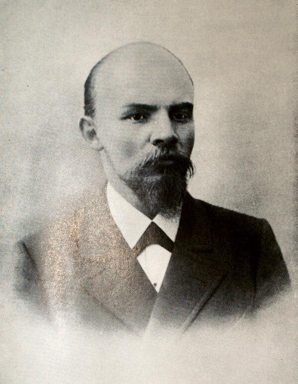В. И. Ленин. Фотография 1900 года.