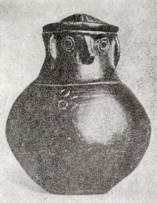 Погребальная урна из Тлукома (бассейн Нижней Вислы). Середина VIII в. - конец V в. до н.э.