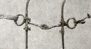 Бронзовые удила из кургана Туяхте (Алтай). V-IV вв. до н.э.