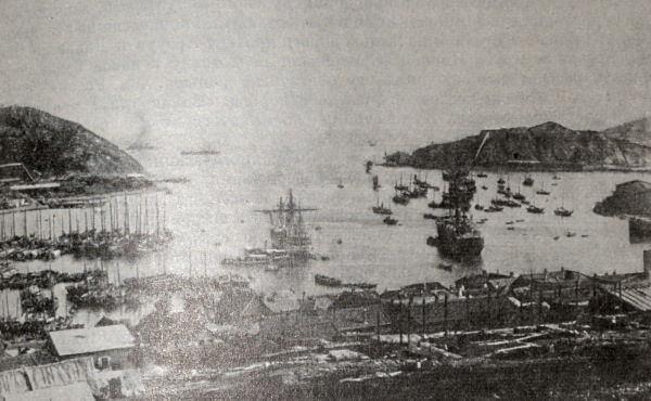 Порт-Артур (Люйшунь). Фотография 1904 года.