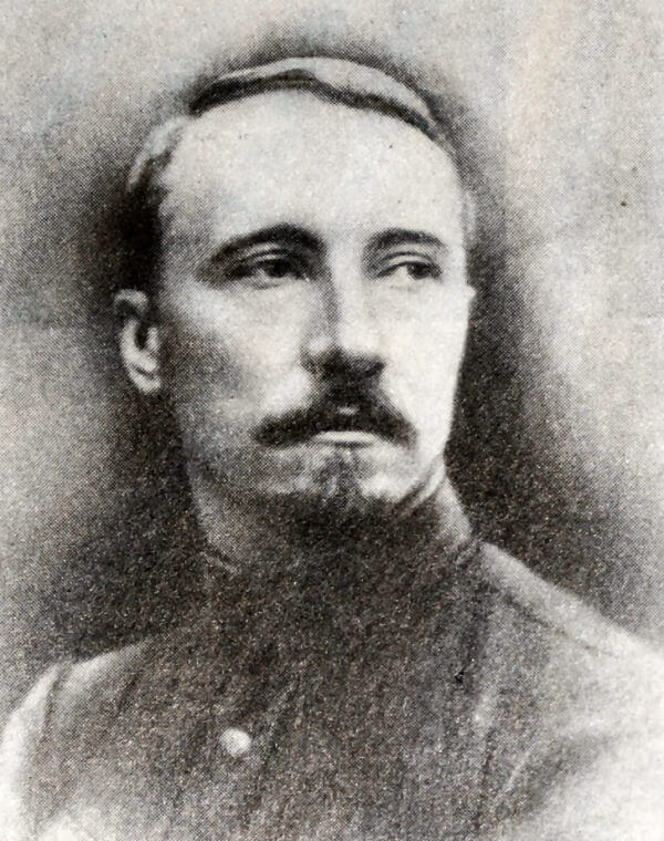 Н. И. Подвойский. Фотография 1917 года.