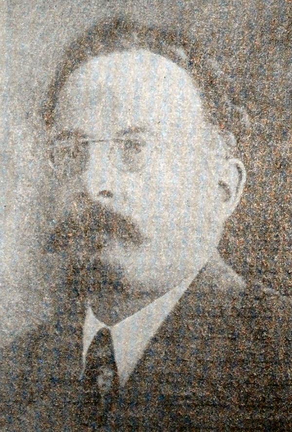 М.Ф. Владимирский. Фотография 1917 года.