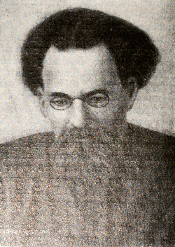П. К. Штернберг. Фотография 1917 года.