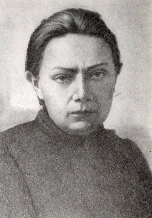 Н. К. Крупская. Фотография.