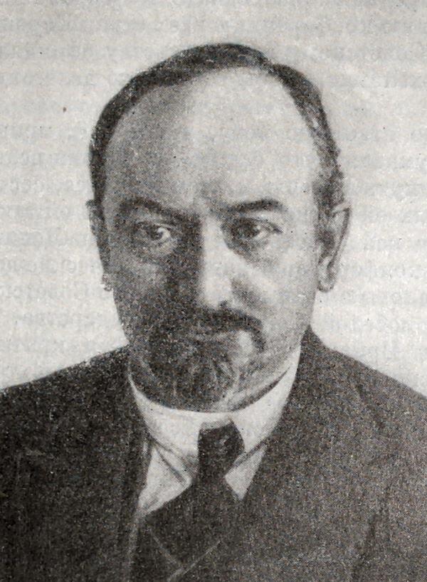 Г. В. Чичерин. Фотография 1923 года.