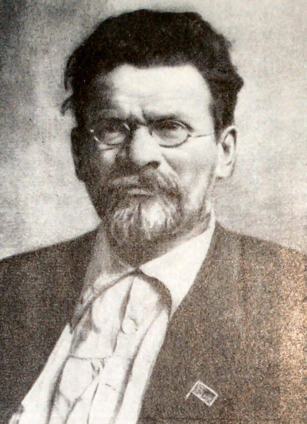 М. И. Калинин. Фотография 1922 года.
