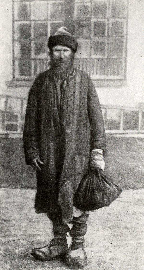 Крестьянин - ходок в I Государственную думу. Фотография 1906 года.