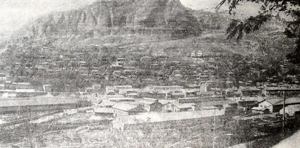 Чиатурские марганцевые рудники. Фотография 1936 года.