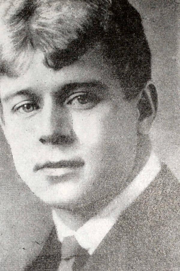 С. А. Есенин. Фотография 1924 года.