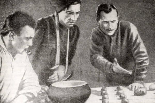 Кадр из кинофильма Чапаев