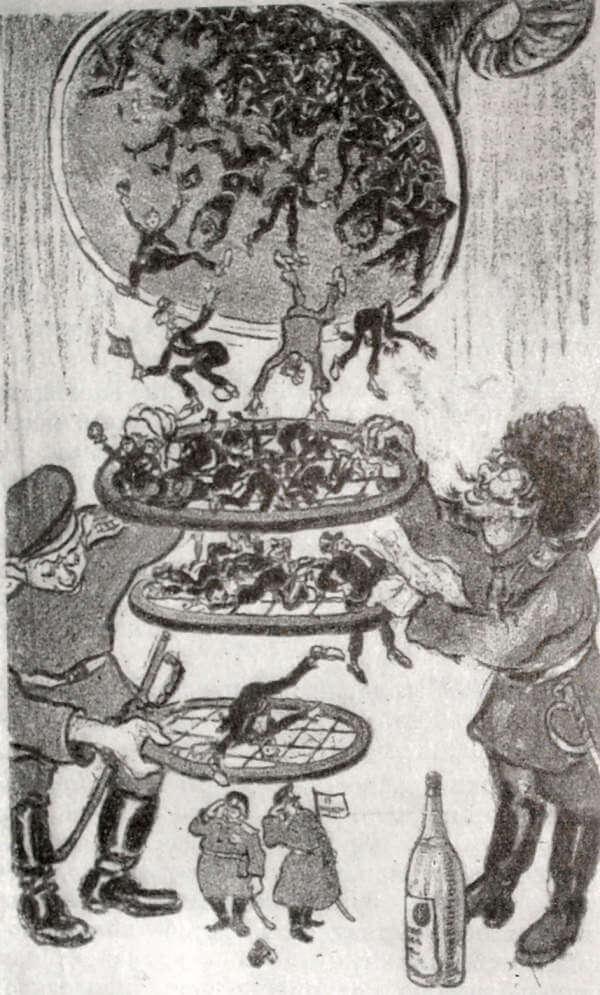 Карикатура на выборы в III Государственную думу