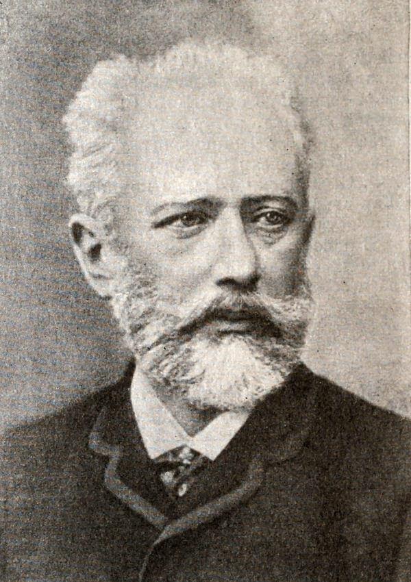 Петр Ильич Чайковский. Фотография 1888 года.